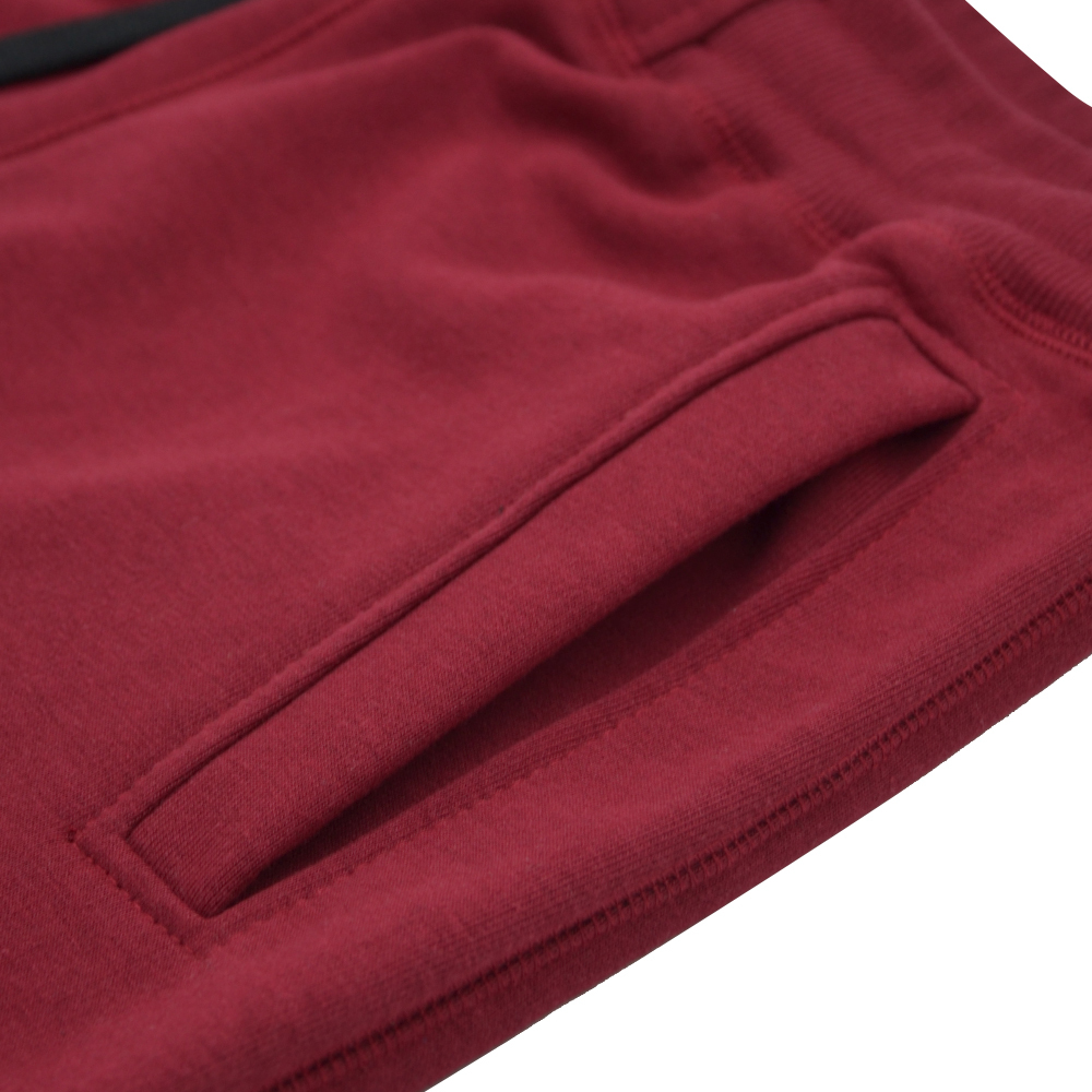 "Cotton shorts Pretorian ""PS"" - Burgundy"