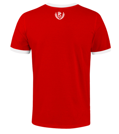 T-shirt Pretorian Back to classic - red