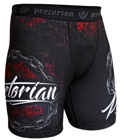 MMA Shorts Pretorian No Mercy black