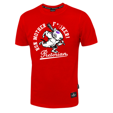 T-shirt Pretorian Run motherf*:)ker! - red