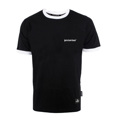 T-shirt Pretorian Small Logo - black