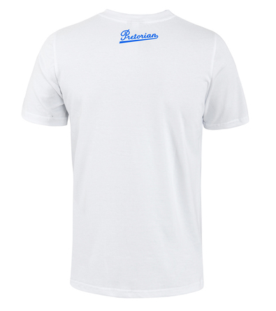 T-shirt Pretorian Run motherf*:)ker! - white