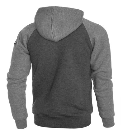 Hoodie Pretorian  Public Enemy - grey
