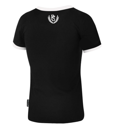 Women's T-shirt Pretorian Back to classic  - Black