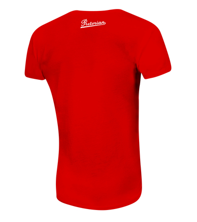 Women's T-shirt Pretorian Run motherf*:)ker! - Red