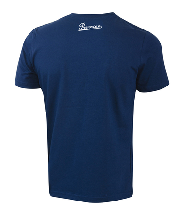T-shirt Pretorian Run motherf*:)ker! - navy blue