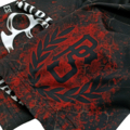 "MMA Shorts Pretorian ""Public Enemy"" black"