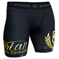 "MMA Shorts Pretorian ""Death Before Dishonour"" black"